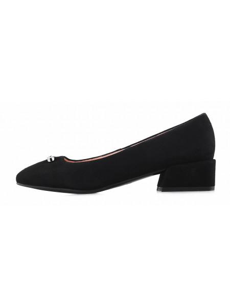 Туфли замшевые VICTIM (Poland ) 13097 черные