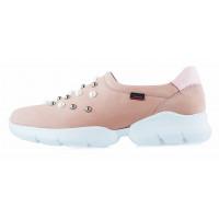 Кроссовки нубуковые CALLAGHAN (ИСПАНИЯ) 13109 розовые