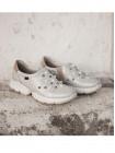 Кроссовки кожаные CALLAGHAN (ИСПАНИЯ) 13110 серебристые