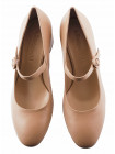 Туфли каожаные BEFEETGERALD (ИТАЛИЯ) 13123 бежевые