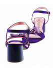 13125 INDIANA (Brazil) Босоножки замшевые фиолетовые