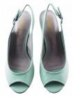Босоножки кожаные INDIANA (Brazil) 13130 зелено-серо-фиолетовые