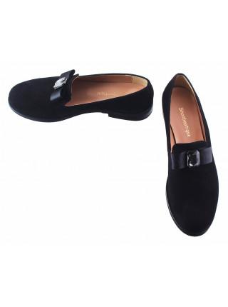 13219 SHOEBOOUTIQUE (Poland) Туфли замшевые черные