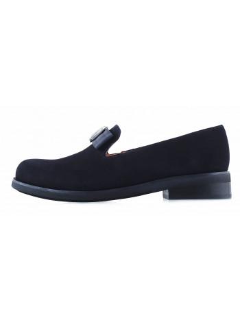 Туфли замшевые SHOEBOOUTIQUE (Poland ) 13219 черные