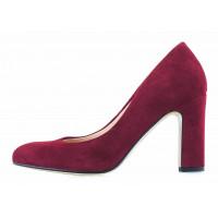 13220 SHOEBOOUTIQUE (Poland) Туфли замшевые бордовые