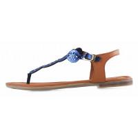 13280 S.OLIVER (Germany) Босоножки кожаные синие