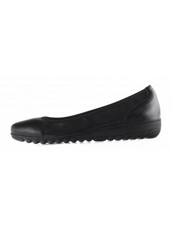 Балетки кожаные CAPRICE (Germany) 13281 черные