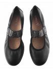 13282 CAPRICE (Germany) Балетки кожаные черные
