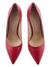 Туфли кожаные BEFEETGERALD (ИТАЛИЯ) 13371 вишневые