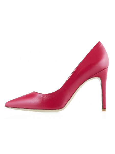 Туфли кожаные BEFEETGERALD (ИТАЛИЯ) 13372 темно-красные