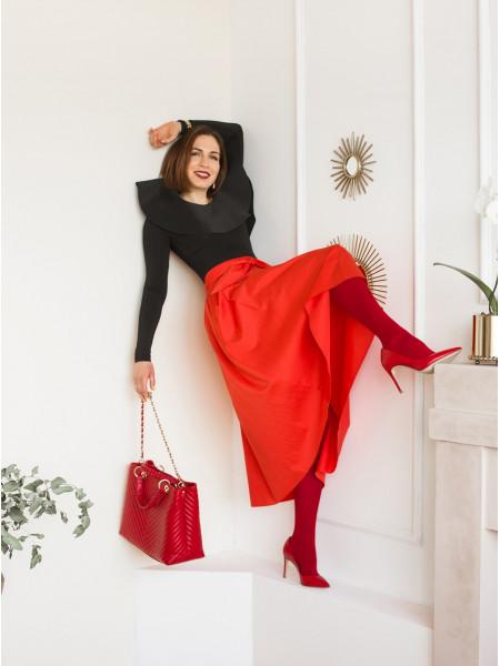 Туфли кожаные BEFEETGERALD (ИТАЛИЯ) 13374 красные