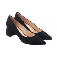 13377 ROSE CORVINA (Turkey) Туфли замшевые черные