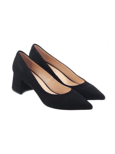 Туфли замшевые ROSE CORVINA (Turkey) 13377 черные