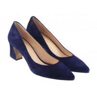 13380 ROSE CORVINA (Turkey) Туфли замшевые темно-синие