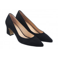 Туфли замшевые ROSE CORVINA (Turkey) 13381 черные