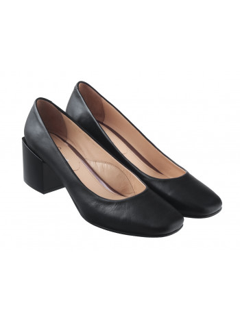 Туфли кожаные ROSE CORVINA (Turkey) 13383 черные