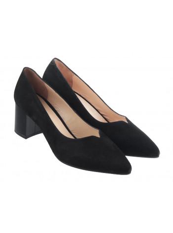 13384 ROSE CORVINA (Turkey) Туфли замшевые черные