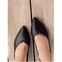 Туфли кожаные ROSE CORVINA (Turkey) 13385 черные