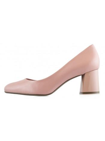 13393 INDIANA (Brazil) Туфли кожаные бежевые