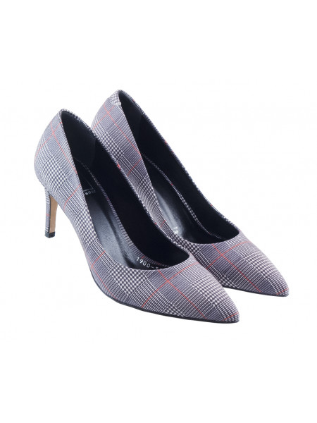 Туфли нубуковые LIBA SHOES (Turkey) 13441 черно-белые