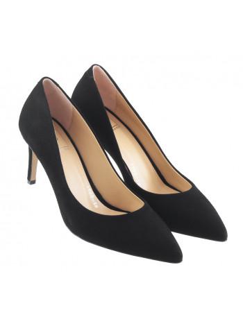 13442 LIBA SHOES (Turkey) Туфли замшевые черные