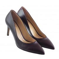 Туфли кожаные LIBA SHOES (Turkey) 13444 бордовые