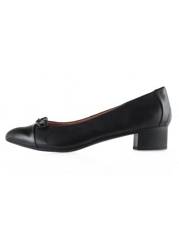 13483 CAPRICE (Germany) Туфли кожано-лаковые черные