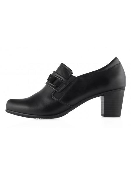 Туфли кожаные JANA (Germany) 13500 черные