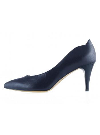 13507 SHOEBOOUTIQUE (Poland) Туфли кожаные темно-синие