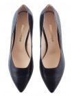 Туфли кожаные SHOEBOOUTIQUE (Poland ) 13508 черные