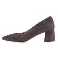 Туфли замшевые SHOEBOOUTIQUE (Poland ) 13510 коричневые