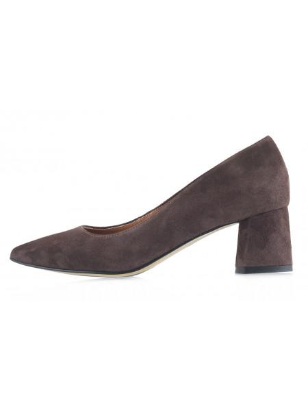 13510 SHOEBOOUTIQUE (Poland) Туфли замшевые коричневые