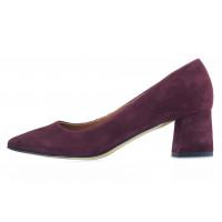 13511 SHOEBOOUTIQUE (Poland) Туфли замшевые бордовые