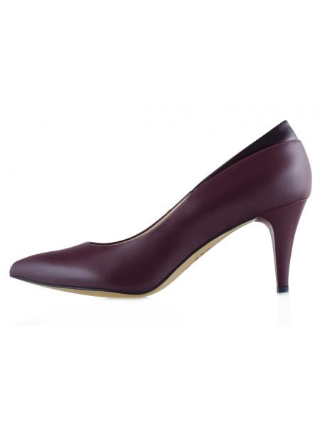 13517 SHOEBOOUTIQUE (Poland) Туфли кожаные бордовые