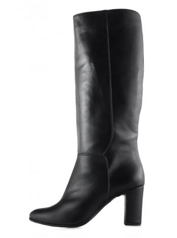 Сапоги осенние кожаные BEFEETGERALD (ИТАЛИЯ) 13580 черные