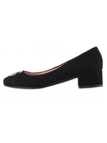 Туфли замшевые VICTIM (Poland ) 13599 черные
