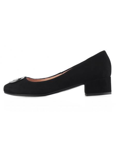 13599 VICTIM (Poland) Туфли замшевые черные