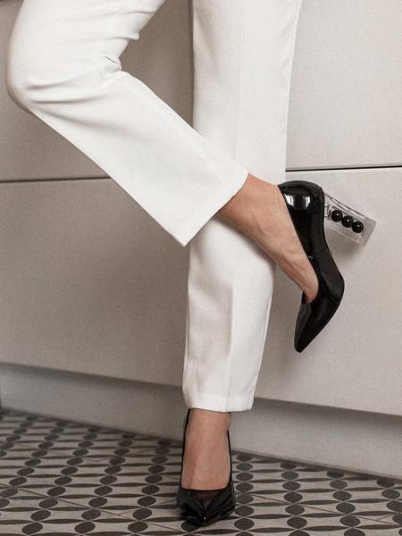 Туфли лаковые DIVINO (Turkey) 13680 черные