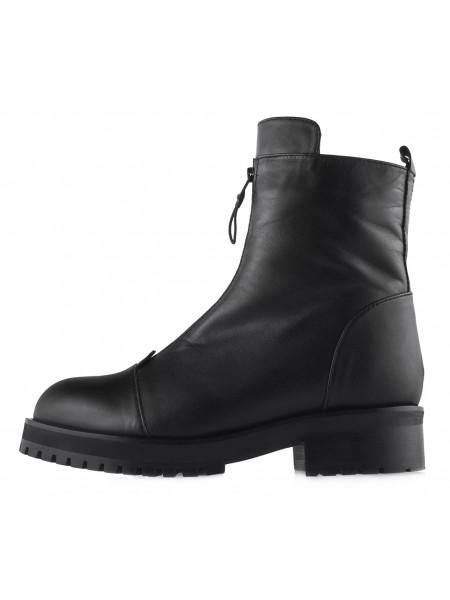 13725 ROSE CORVINA (Turkey) Полуботинки осенние кожаные черные