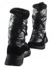 13732 TAMARIS (Germany) Полусапожки-спорт зимние кожано-замшево-текстильные черные