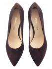 Туфли замшевые SHOEBOOUTIQUE (Poland ) 13785 темно-коричневые