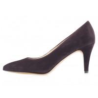 13785 SHOEBOOUTIQUE (Poland) Туфли замшевые темно-коричневые