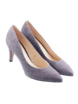 13786 SHOEBOOUTIQUE (Poland) Туфли замшевые серые