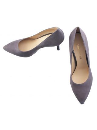 13788 SHOEBOOUTIQUE (Poland) Туфли замшевые серые