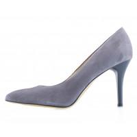 Туфли замшевые SHOEBOOUTIQUE (Poland ) 13788 серые