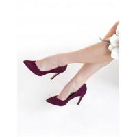 13790 SHOEBOOUTIQUE (Poland) Туфли замшевые бордовые