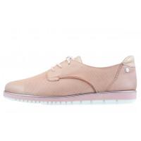 13850 TAMARIS (Germany) Туфли кожаные розовые сетка несквозная