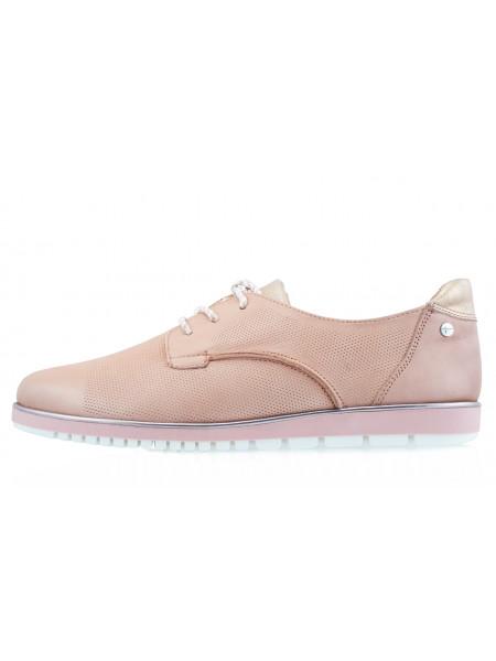Туфли кожаные сетка несквозная TAMARIS (Germany) 13850 розовые