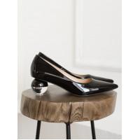 13900 SECRET ZONE (Turkey) Туфли кожаные черные