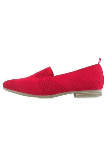 13920 JANA (Germany) Туфли текстильные красные